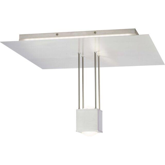 Brilliant LED Lampe De Plafond Lentille RGB Changeur Couleur Télécommande