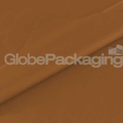100 SHEETS OF BROWN COLOURED ACID FREE TISSUE PAPER 375mm x 500mm *TOP QUALITY*