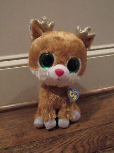 b6e52f90112 ALPINE Reindeer Ty Beanie Boos 10