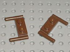 2 x LEGO STAR WARS OldBrown Plate ref 3839b / Set 7139  Ewok Attack