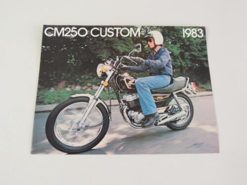 NOS 1983 Honda CM250 Custom CM250C Dealer Brochure L149