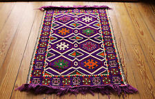 70x110  cm Orientalischer Teppich,Carpet,Matte, Kelim aus Damaskunst S 1-2-7