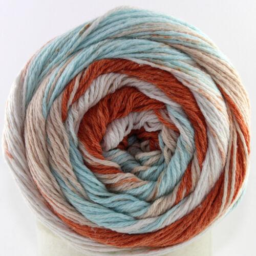 200g degradado lana armoni Cake lanoso 55/% algodón 25/% viscosa 430m//200g