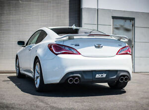 Genesis Coupe 2.0T >> Details About Borla Catback Exhaust System For 2010 2014 Hyundai Genesis Coupe 2 0l Turbo 2 0t