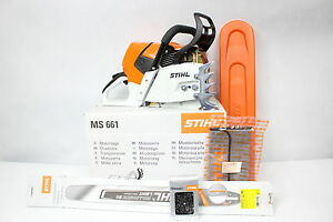 stihl ms 661 c m kettens ge s ge schnittl nge 63cm benzin motors ge neu garantie. Black Bedroom Furniture Sets. Home Design Ideas