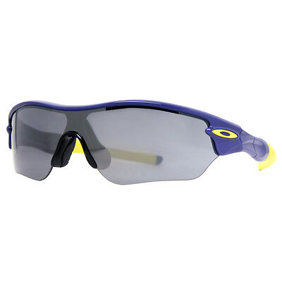 Oakley Radar Edge OO9184-14 Royalty Purple/Green Iridium Shield Sunglasses