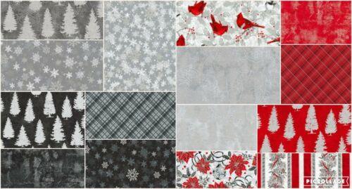 """5/"""" Charm Pack hiver impressionne Silver colorstory Coton Charme Carrés M530.09"""