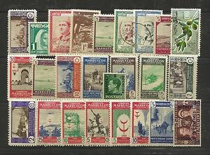 MOROCCO-STAMP-COLLECTION-amp-PACKET-of-25-DIFFERENT-Mint-and-Used-Stamps