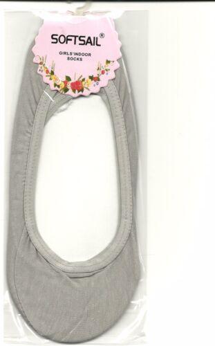 Ballerina Socken Fußlinge grau einheitsgröße