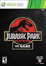 Jurassic Park: The Game  --  Microsoft Xbox 360 Game Complete  ***Guaranteed***