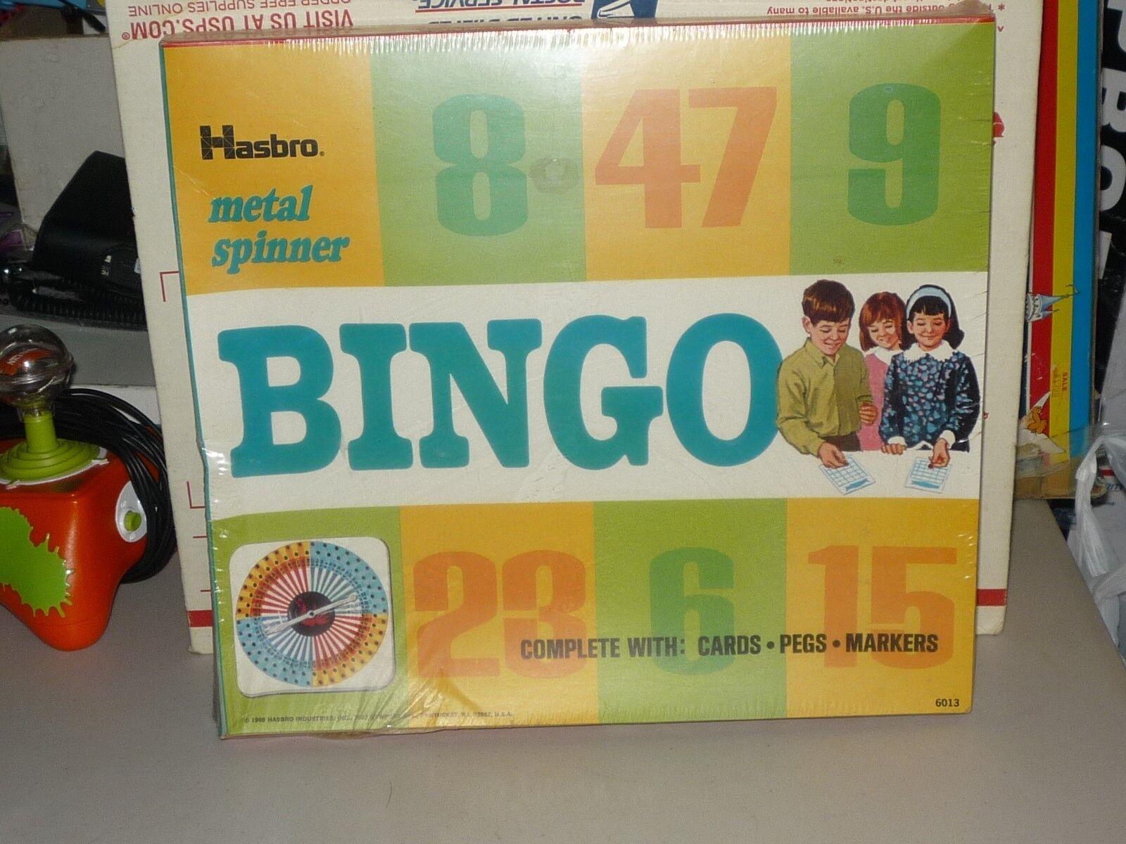 1969 vintage hasbro bingo spiel   6013 metall - - - spinner, fabrik versiegelt 43a37b