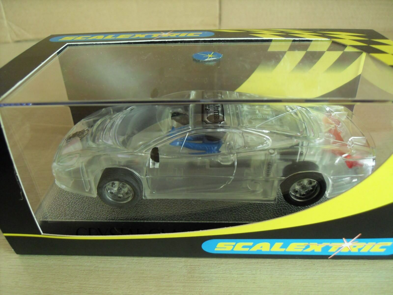 Scalextric Jaguar XJ220 Crystal Classics of 100 Certificated - New in Box