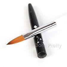 Gr. #8 Nail Art Pinsel Brush Acryl UV Gel Nagel Pinsel Abnehmbar Kolinsky Pinsel