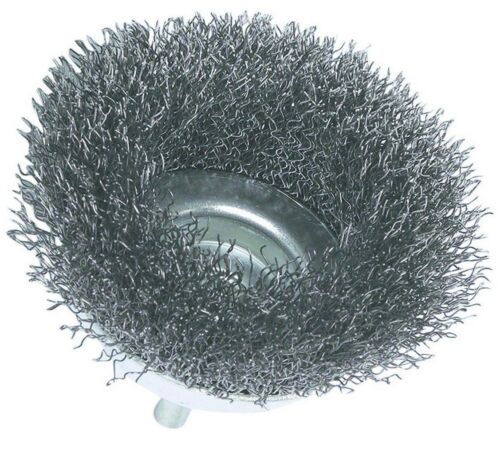 1 3/'/' /& 2/'/' Wire Cup Brush // with 1//4 in 1 Quickly remove rust Shank