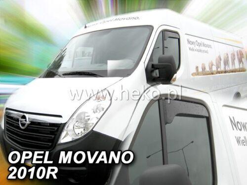 Heko 27117 derivabrisas Opel Movano breve forma 2010-Renault Master 2010-2tlg
