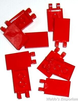 Lego Red Plate 2x3 10 pieces NEW!!!