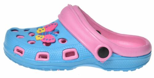 New Infant Kids Girls Boys Clogs Slider Beach Mules Pool Sandals Flip Flop Shoes