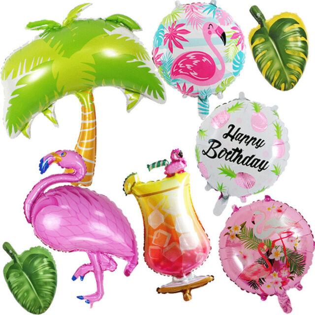 1X Pineapple Watermelon Foil Balloon Women Shower Summer Birthday Party Supplies