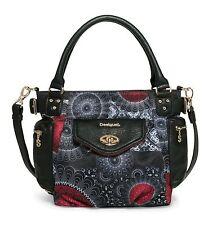 Desigual Bols Mcbee Mini Barbados Tasche Umhängetasche Handtasche Schwarz