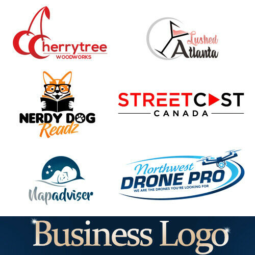 PROFESSIONAL CUSTOM LOGO DESIGN FOR BUSINESS + UNLIMITED REVISION | GRAPHICS 19