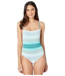 Missoni-Mare-Women-039-s-189672-Knit-Lame-Sfumata-One-Piece-Swimsuit-Size-40