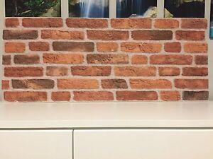 Klinker parete muro pannelli effetto pietra polistirolo pannelli
