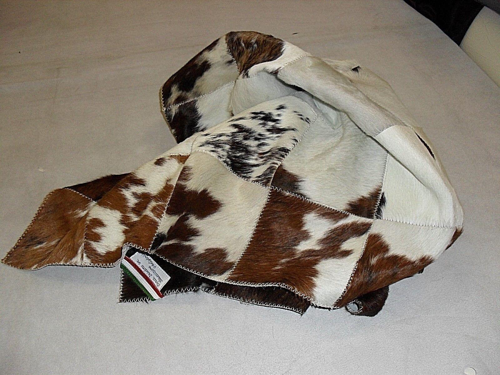 Tapis peau de vache modèle Patchwork Patchwork Patchwork Mesures 140x70 cm couleurs mélanger | La Qualité Et La Quantité Assurée  8a8f48