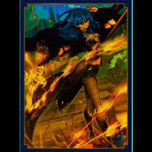 """FE91 4549743339870 Movic /""""Fire Emblem Cipher/"""" Matte Card Sleeve Byleth No"""
