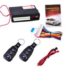 Universal Car Door Lock Central Locking Kit Keyless Entry System Remote Control