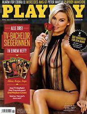 Playboy 11/2014    KATJA KÜHNE & ALISSA HAROUAT & ANJA POLZER    November/2014