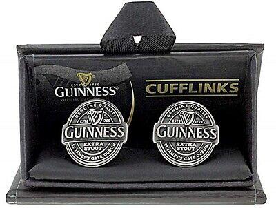 Guinness Antique Silver metal cufflinks FREE GIFT* sg