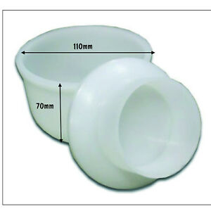 without follower Cheese Mould No.12 Cylinder includes base 190mm dia x 93mm ht