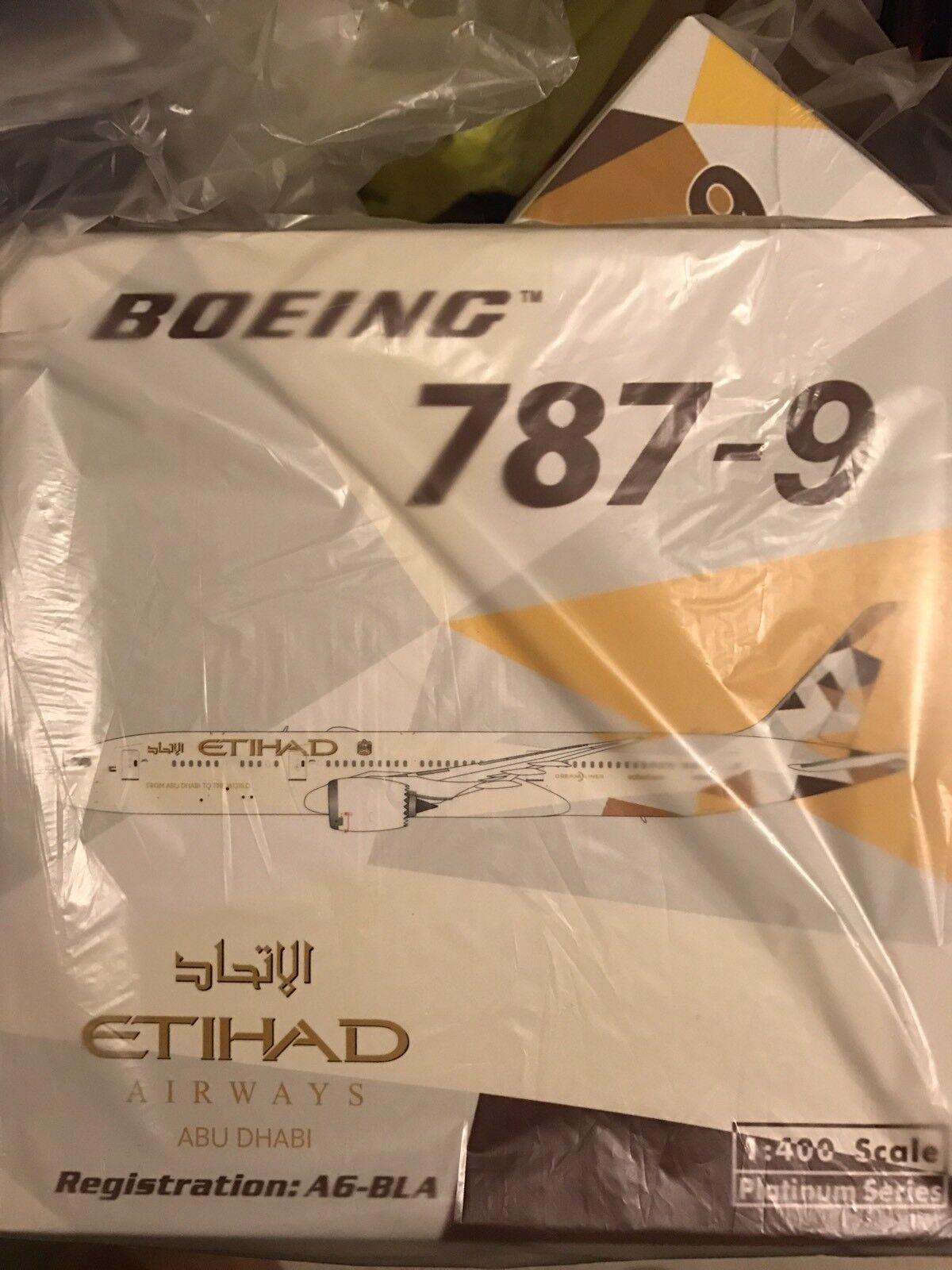 1 400 Phoenix Etihad B787-9 A6-BLA