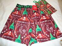 Tuong Ot Sriracha Men's Boxer Shorts With Gift Bag Size S M L