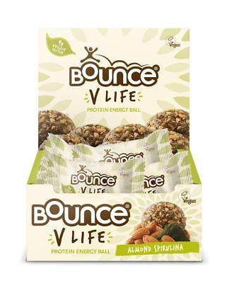 Bounce V Vita Mandorla Spirulina Vegan Bounce Palla 12x40g- Paghi Uno Prendi Due