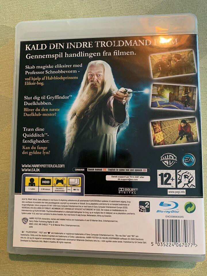 Harry Potter og halvblodsprinsen, PS3, adventure
