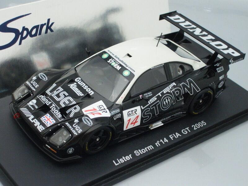 1 43 Spark LISTER STORM  14 FIA GT 2005
