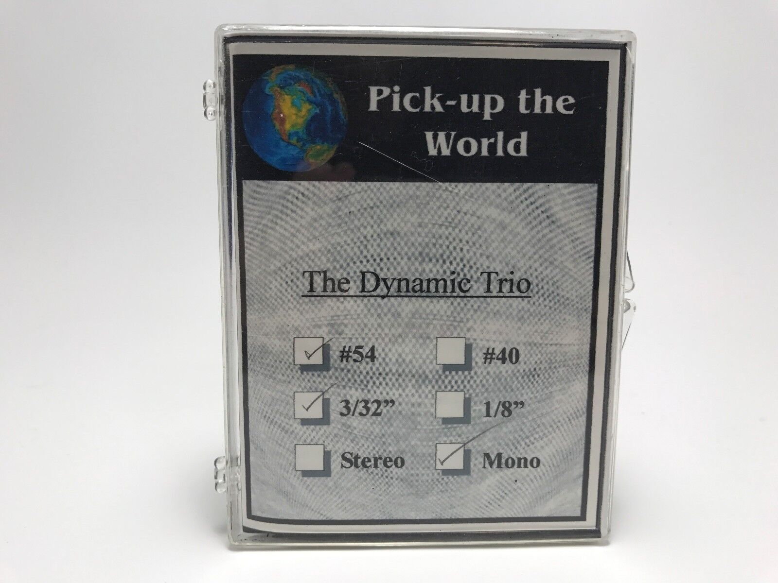 NEW Pick Up The World  54 Dynamic Trio (DUAL ELEMENT SBT   UST) 3 32  MONO