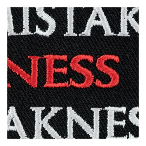 Funny Patches Don/'t Mistake Kindness For Weakness Patch