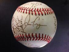 1987 Chicago White Sox Autographed Baseball(27 Sigs) Ozzie Guillen,Fregosi,Baine