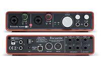 Focusrite Scarlett 6i6 Gen 1 USB 2.0 audio interface - REFURBISHED