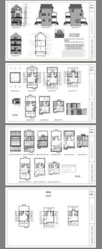 697 sqft Model 20 16x16 Tiny House 2 bedroom PDF Floor Plan