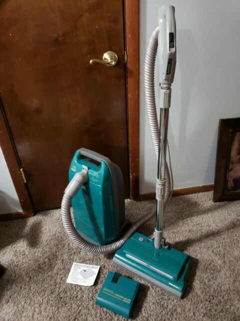 KENMORE 116 360 Green Canister Vacuum Cleaner Whispertone + Power Mate Jr 12.0