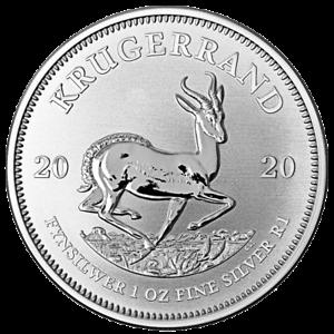 Suedafrika-1-Rand-2020-Kruegerrand-Anlagemuenze-1-Oz-Silber-ST