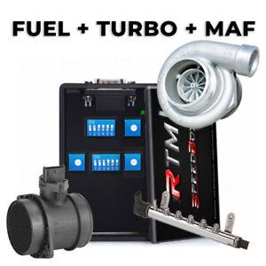 FUEL+TURBO+MAF Centralina Aggiuntiva FIAT Bravo 1.6 M-JET 105 CV Chiptuning