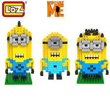 Despicable Set Of Three Minions,Kevin,Dave,Stuart Blocks/LEGO With Designer Box