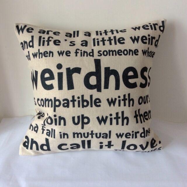 Dr Seuss Art Words Cotton Linen Cushion Cover Throw Pillow For Home Decor B126