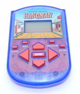 Electronic, Battery & Wind-up Friendly Milton Bradley Hangman Handheld Working R12577 Pure Whiteness