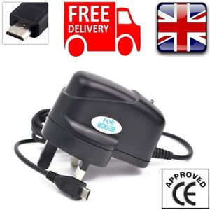 UK-Micro-USB-Mains-Power-Wall-Supply-Charger-5V-1Amp-For-Raspberry-Pi-3-Model-B