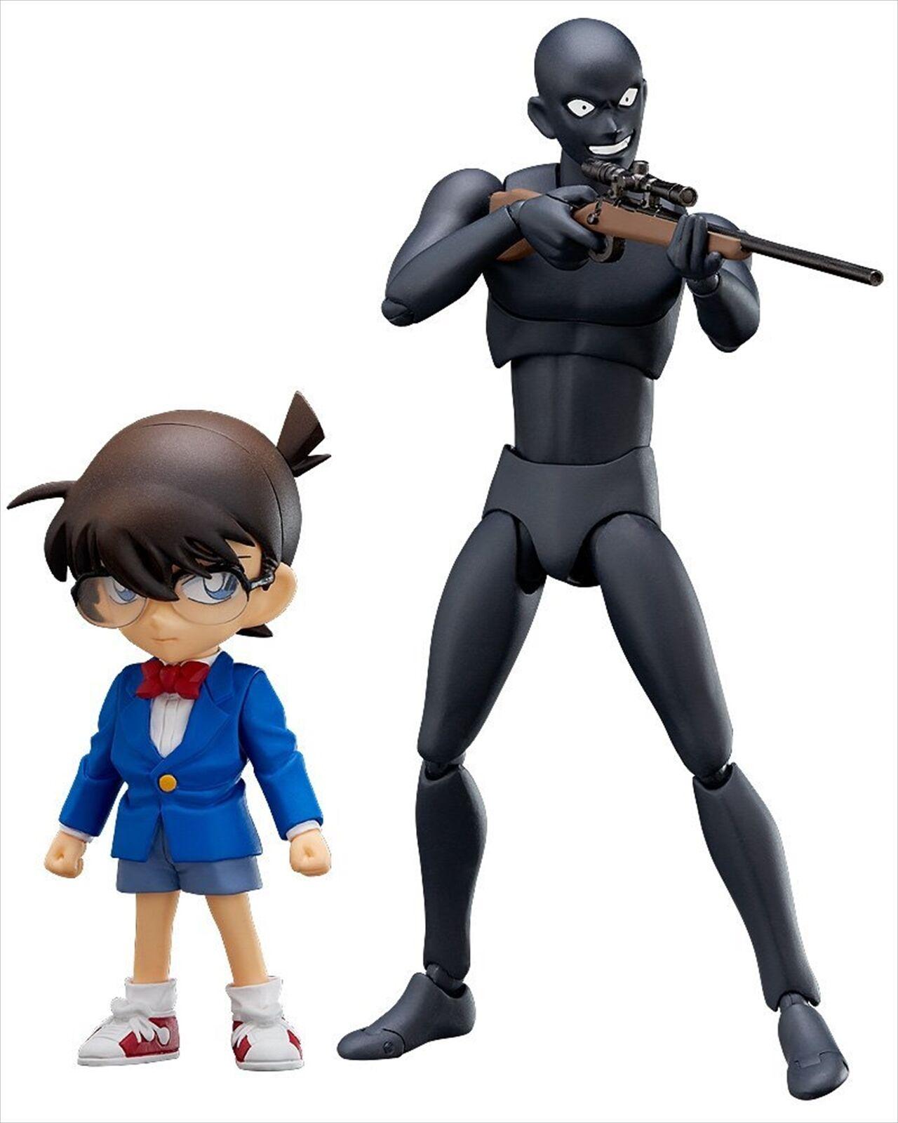 Freeing figfix Conan Edogawa Conan & Figma criminal no Escala Figura De Acción